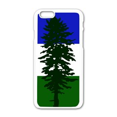 Flag 0f Cascadia Apple Iphone 6/6s White Enamel Case