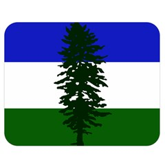 Flag 0f Cascadia Double Sided Flano Blanket (medium)