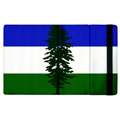 Flag 0f Cascadia Apple Ipad Pro 12 9   Flip Case