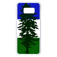 Flag 0f Cascadia Samsung Galaxy S8 Plus White Seamless Case