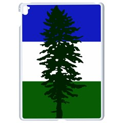 Flag 0f Cascadia Apple Ipad Pro 9 7   White Seamless Case