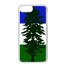 Flag 0f Cascadia Apple Iphone 8 Plus Seamless Case (white)