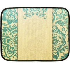 Art Nouveau Green Fleece Blanket (mini)
