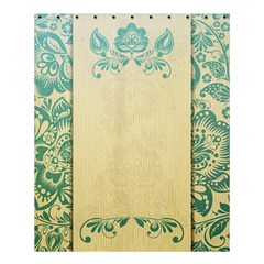Art Nouveau Green Shower Curtain 60  X 72  (medium)