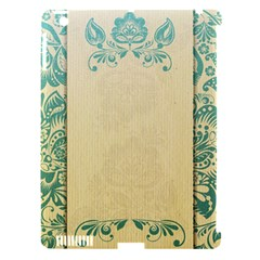 Art Nouveau Green Apple Ipad 3/4 Hardshell Case (compatible With Smart Cover)