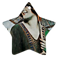 Lady Of Summer 1920 Art Deco Ornament (star)