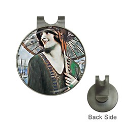Lady Of Summer 1920 Art Deco Hat Clips With Golf Markers