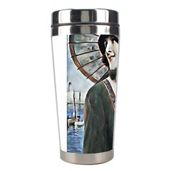 Lady Of Summer 1920 Art Deco Stainless Steel Travel Tumblers