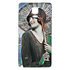 Lady Of Summer 1920 Art Deco Galaxy Note 4 Back Case