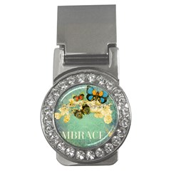 Embrace Shabby Chic Collage Money Clips (cz)