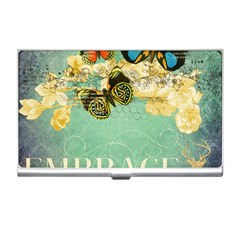 Embrace Shabby Chic Collage Business Card Holders