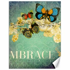 Embrace Shabby Chic Collage Canvas 18  X 24