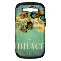 Embrace Shabby Chic Collage Samsung Galaxy S Iii Hardshell Case (pc+silicone)