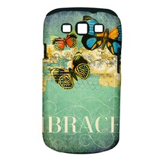 Embrace Shabby Chic Collage Samsung Galaxy S Iii Classic Hardshell Case (pc+silicone)