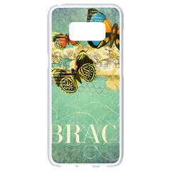 Embrace Shabby Chic Collage Samsung Galaxy S8 White Seamless Case