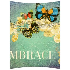 Embrace Shabby Chic Collage Back Support Cushion