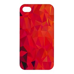 Triangle Geometric Mosaic Pattern Apple Iphone 4/4s Premium Hardshell Case