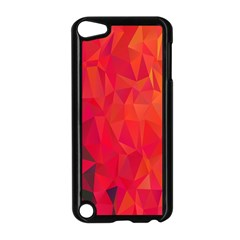 Triangle Geometric Mosaic Pattern Apple Ipod Touch 5 Case (black)