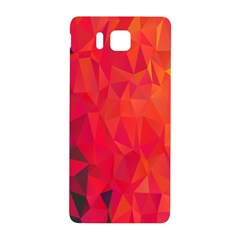 Triangle Geometric Mosaic Pattern Samsung Galaxy Alpha Hardshell Back Case