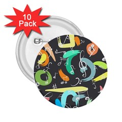 Repetition Seamless Child Sketch 2 25  Buttons (10 Pack)