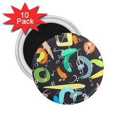Repetition Seamless Child Sketch 2 25  Magnets (10 Pack)
