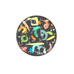 Repetition Seamless Child Sketch Hat Clip Ball Marker (4 Pack)