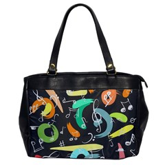 Repetition Seamless Child Sketch Office Handbags
