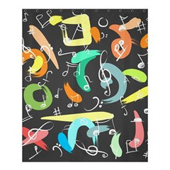 Repetition Seamless Child Sketch Shower Curtain 60  X 72  (medium)
