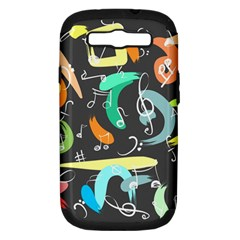 Repetition Seamless Child Sketch Samsung Galaxy S Iii Hardshell Case (pc+silicone)