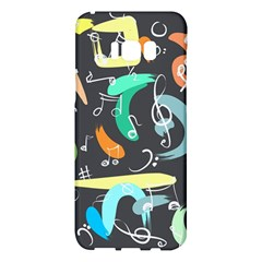 Repetition Seamless Child Sketch Samsung Galaxy S8 Plus Hardshell Case