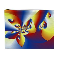 Mandelbrot Math Fractal Pattern Cosmetic Bag (xl)