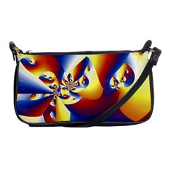Mandelbrot Math Fractal Pattern Shoulder Clutch Bags