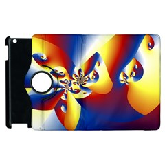 Mandelbrot Math Fractal Pattern Apple Ipad 3/4 Flip 360 Case