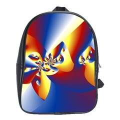 Mandelbrot Math Fractal Pattern School Bag (xl)