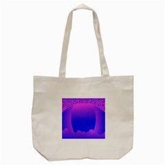 Abstract Bright Color Tote Bag (cream)