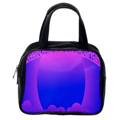 Abstract Bright Color Classic Handbags (one Side)