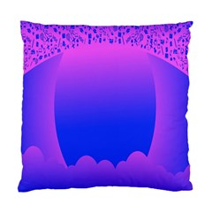 Abstract Bright Color Standard Cushion Case (one Side)
