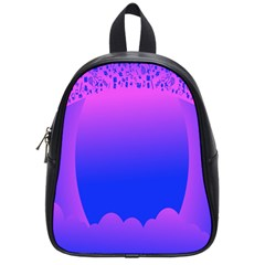 Abstract Bright Color School Bag (small)
