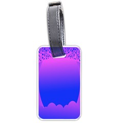 Abstract Bright Color Luggage Tags (one Side)
