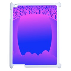 Abstract Bright Color Apple Ipad 2 Case (white)