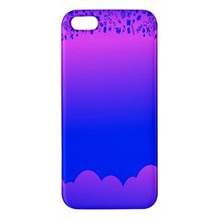 Abstract Bright Color Apple Iphone 5 Premium Hardshell Case