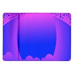Abstract Bright Color Samsung Galaxy Tab 10 1  P7500 Flip Case