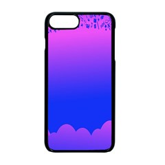 Abstract Bright Color Apple Iphone 7 Plus Seamless Case (black)