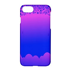 Abstract Bright Color Apple Iphone 8 Hardshell Case