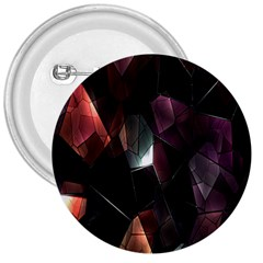 Crystals Background Design Luxury 3  Buttons