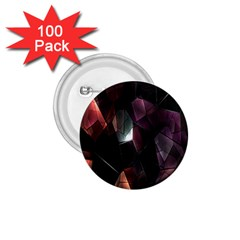 Crystals Background Design Luxury 1 75  Buttons (100 Pack)