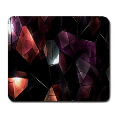 Crystals Background Design Luxury Large Mousepads