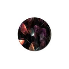 Crystals Background Design Luxury Golf Ball Marker