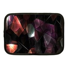Crystals Background Design Luxury Netbook Case (medium)
