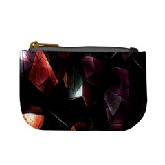 Crystals Background Design Luxury Mini Coin Purses